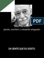 Eu gosto de gente por Mario Benedetti