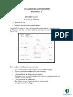 CASO CLINICO  DE ENDOCRINOPATIA