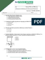 Avaliação hidráulica básica PRESENCIAL 1