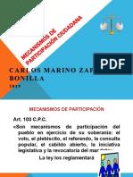 8.  MECANISMOS DE PARTICIPACIÓN CIUDADANA