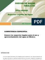 V. ASPECTOS LEGALES DEL AGUA [Autoguardado]1