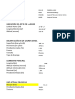 DATOS MICROCUENCA E14A23