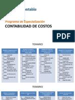1° MODULO -IMPORTANCIA DE LA GESTION DE COSTOS- ING. PATRICIA RAMOS SILVA