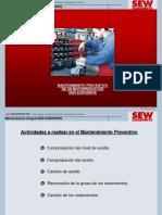 Mantenimiento Preventivo de un motorreductor SEW