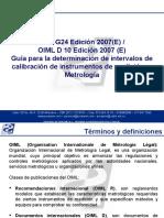 MÓDULO ILAC G24 Y METROLOGÍA