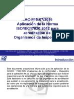 MODULO ILAC P15