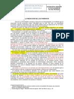 LCRTA-REDACCIÓN DE LOS  PÁRRAFOS  1