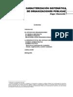 Churnside - Caracterización sistemática de organizaciones públicas