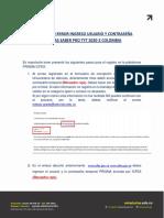 INSTRUCTIVO ERROR INGRESO USUARIO Y CONTRASEÑA PRUEBAS SABER PRO TYT 2020-2 COLOMBIA.pdf