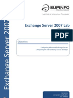 01 - EN - LAB - Exchange Server 2007 without corrections