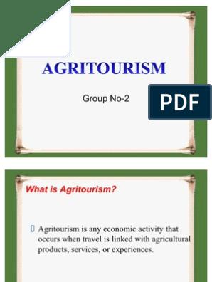 how to establish farm tourism projects