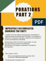 Corporation-part-2