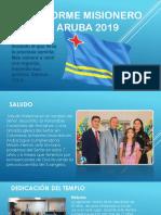 Informe Misionero Aruba 2019