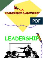 Power Point Leadership & Advokasi