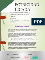 ELECTRICIDAD APLICADA SEMANA II 2020-I