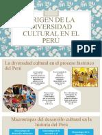ORIGEN DE LA DIVERSIDAD CULTURAL EN EL PERÚ