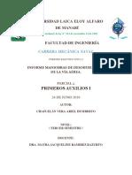 MANIOBRAS DE DESOBTRUCCIÓN