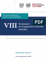 Cuadernillo VIII SeLiFo