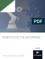 ROBOTICS IN THE ENTERPRISE