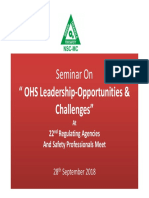 Expectations & Challenges- For Safety Professionals -1
