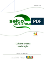 SALTO PARA O FUTURO CULTURA URBANA
