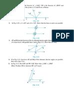 Lines and Angles - III