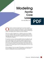 7 modeling ferrite core losses.pdf