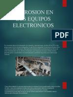 CORROSION EN LOS EQUIPOS ELECTRONICOS