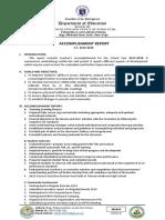 Accomplishment Report TIN 2019-202
