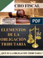 elementos de la obligacion tributaria