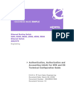 2008 03 26 Authentication Authorization and Accounting for ERS and ES TCG NN48500558