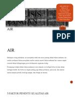 Analisis Pangan (Air)