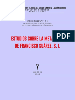 Jesús Iturrioz - Estudios sobre la Metafísica de Francisco Suárez, S. I.
