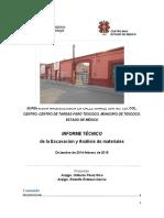 Rescate arqueológico Centro de Tareas, Calle Juárez Sur, Texcoco