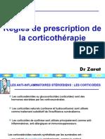 36 - Règles de prescription des corticoides [Dr. ZERAT].pptx