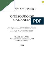 SCHMIDT Afonso [1954] O tesouro de Cananeia [1964] BR 102