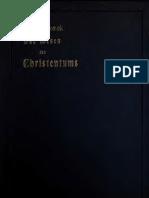 A. von Harnack, Das Wesen des Christentums