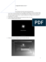 Cara Instalasi Windows 7 Dan Microsoft Office 2007