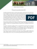 Perspectivas agroalimentarias 2011