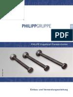 PHILIPP Kugelkopf-Transportanker