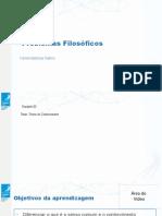 Unidade III_ Problemas Filosóficos (regravado)