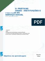 Unidade II Serviço Social