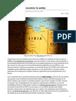 Blog.realinstitutoelcano.org-Libia Sigue Sin Encontrar La Salida