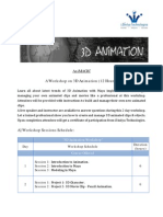 3D Animation Brochure