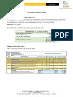INFORME FINAL DE OBRA  - INSTALACIÓN DE MALLA METÁLICA (CON TUBOS REDONDOS), BARANDAS Y PASAMANOS – AREA DE JUEGOS RECREATIVOS EN COLEGIO UNIÓN.pdf