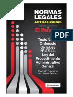 TUO de-la-ley-27444-ley-de-procedimiento-administrativo-general-LPAG