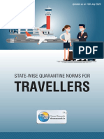 State Wise Quarantine Regulations for Travellers_TCIL_10th July2020