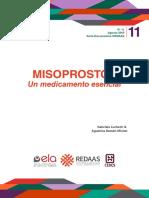 168-11. Misoprostol - ARM y GL