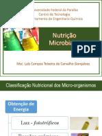 Nutrição Microbiana_Laís