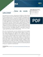 200813 Indicador Inflacao Faixa de Renda Julho 2020